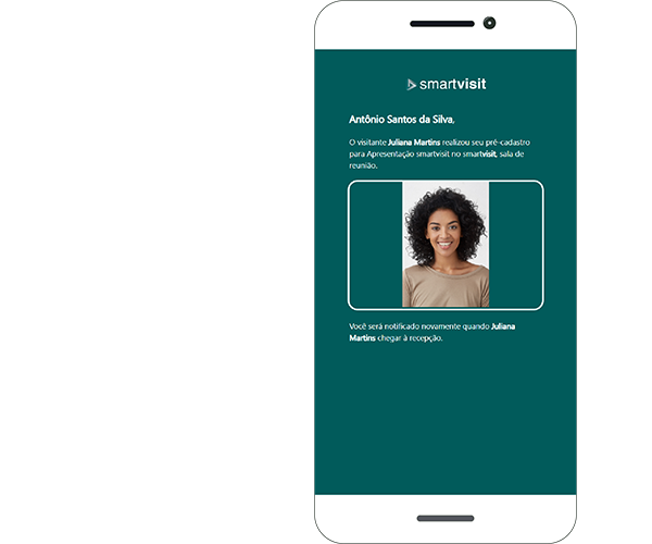 Smartvisit recepção de condominio com agendamento no celular