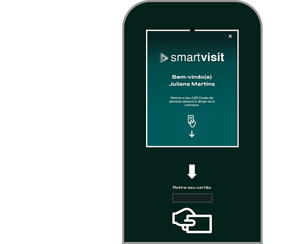 Smartvisit recepçao digital para empresas e industrias