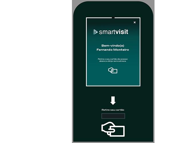 Smartvisit permissão de acesso de prédio via SMS